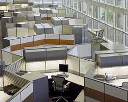 cubicle installation