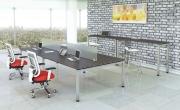 NDI-benching-PLT Benching 41 inch Tall Table 30 Deep Newport Gray