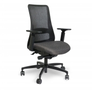 VIA-seating-genie-black-51A-18BB-arm-range-lowered